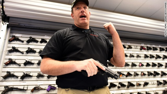 Gun Sales Boomed In November