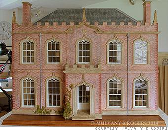 luxury dollhouse gothic house