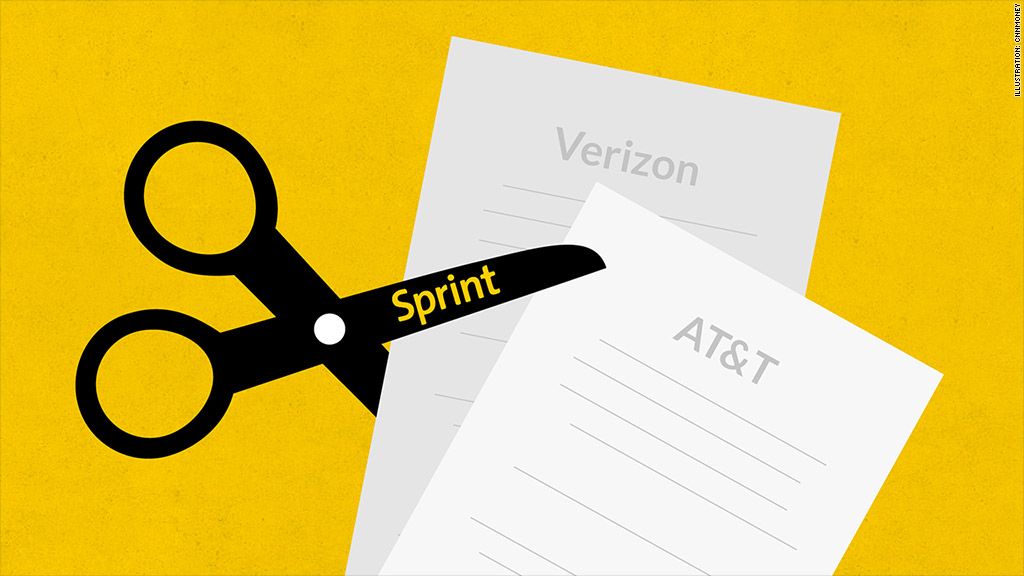 sprint cutting bills