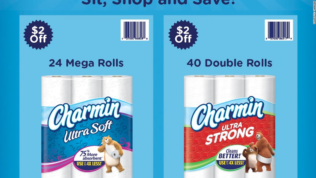 amazon charmin bathroom ads