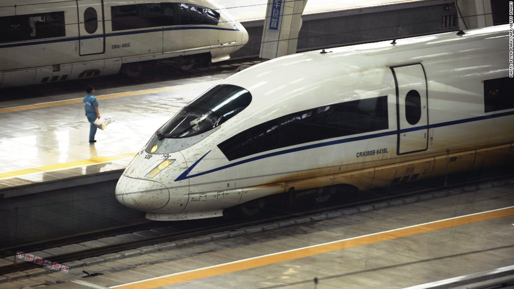 China wants to build a train system near you