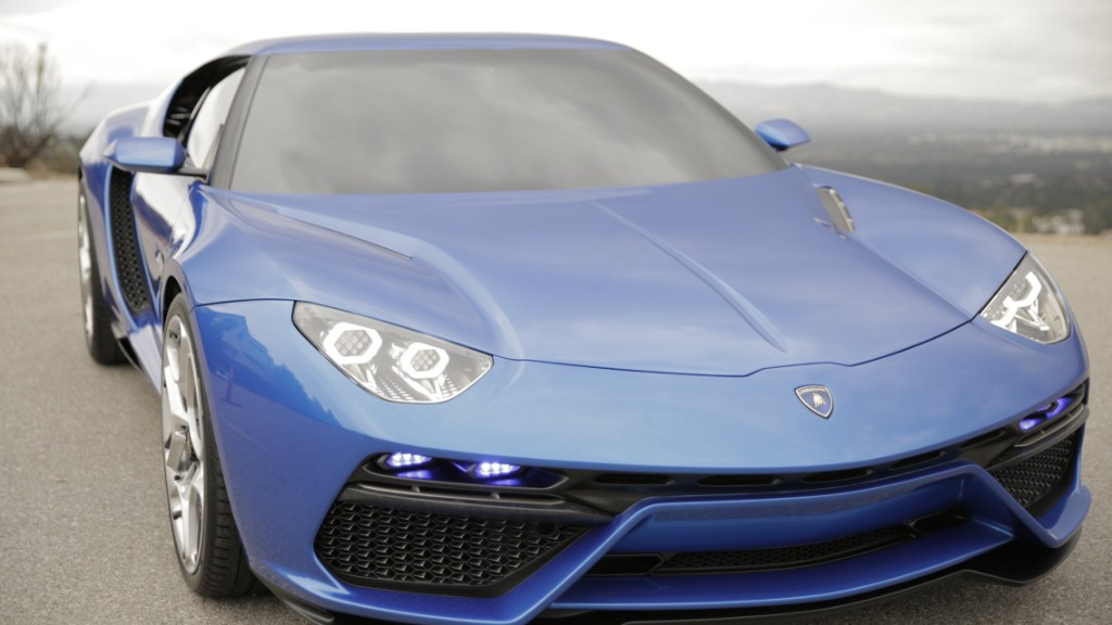 Lamborghini Asterion: One Sexy Hybrid