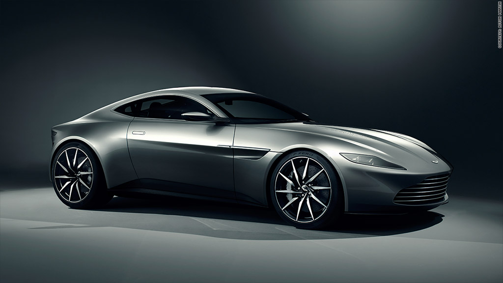 James Bonds New Aston Martin Sells For Million - New aston martin price