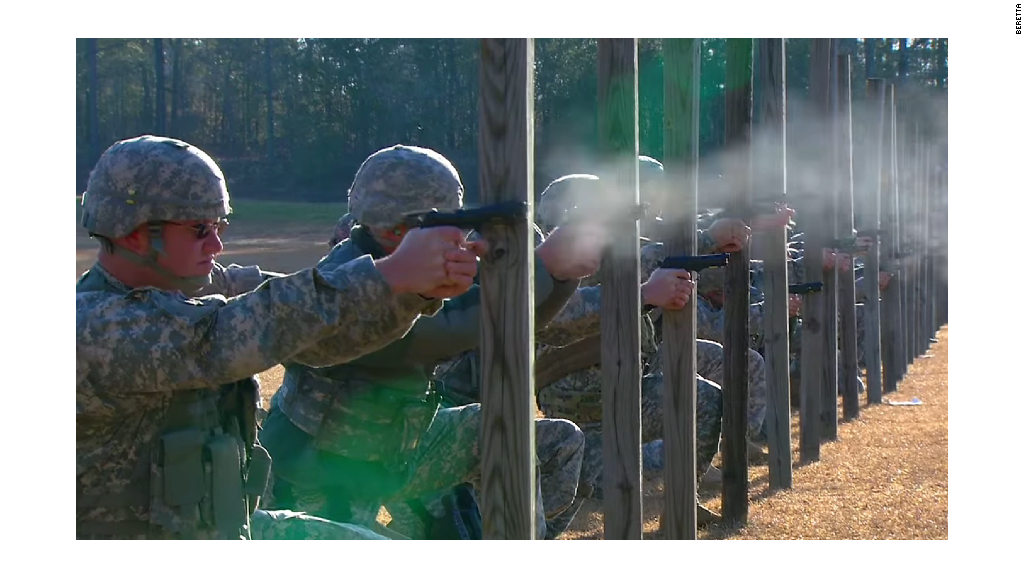 U.S. Army's gun of choice for 30 years