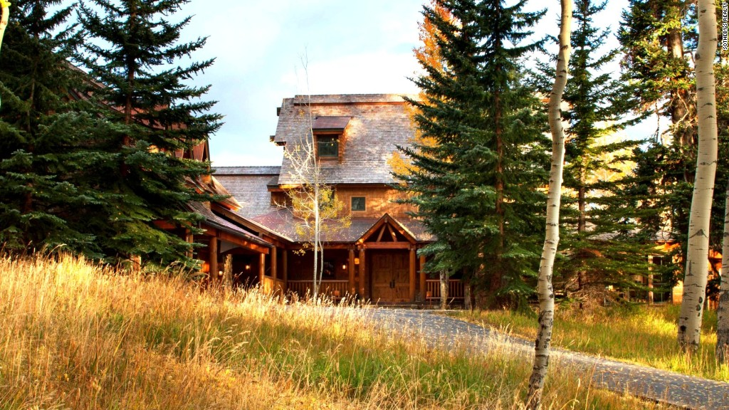 Tom Cruise's Colorado retreat for sale