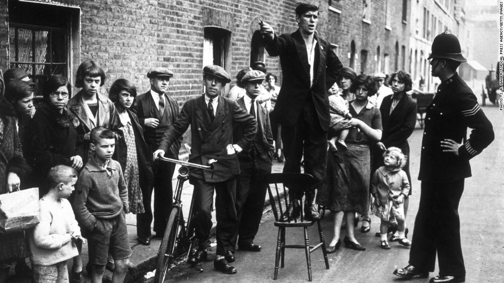 uk austerity london 1930s