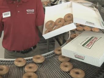 Krispy Kreme krashes