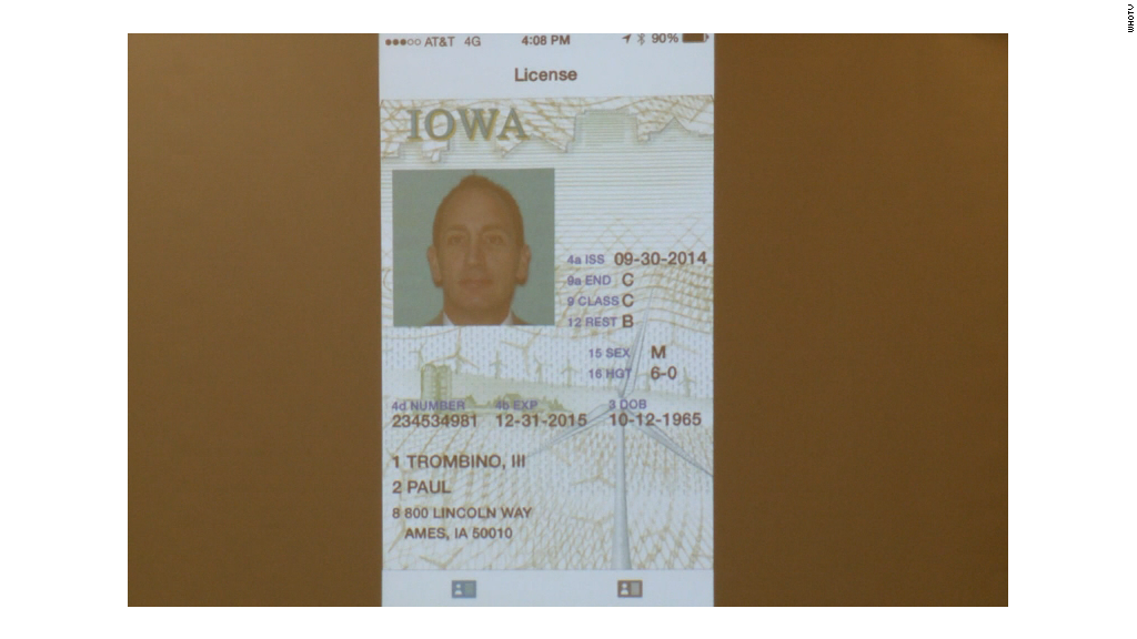 Drivers licenses go digital