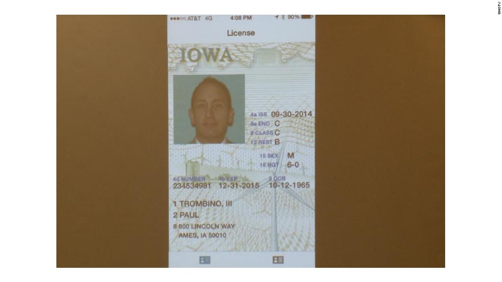 Drivers licenses go digital