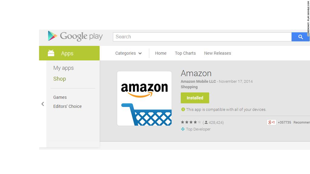 google amazon app