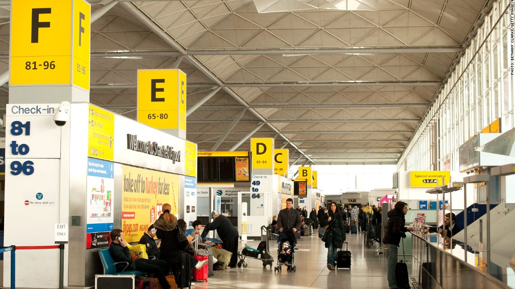 london airport stansted
