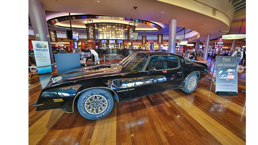 Burt Reynolds' 'Smokey' Trans Am sells for $450K
