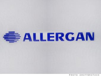 best stocks 2014 allergan