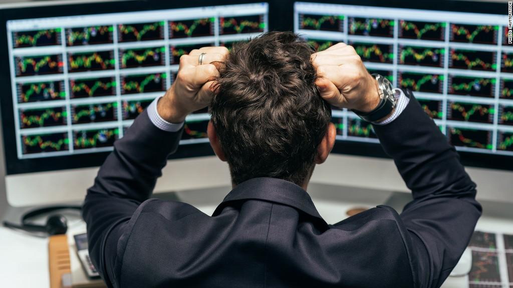 Trader stocks buy