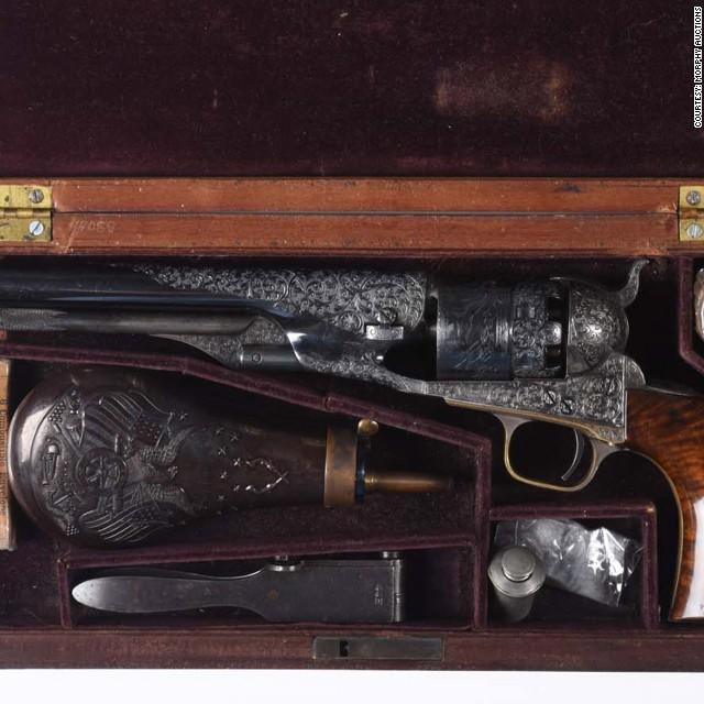 20 antique guns that fetched big bucks