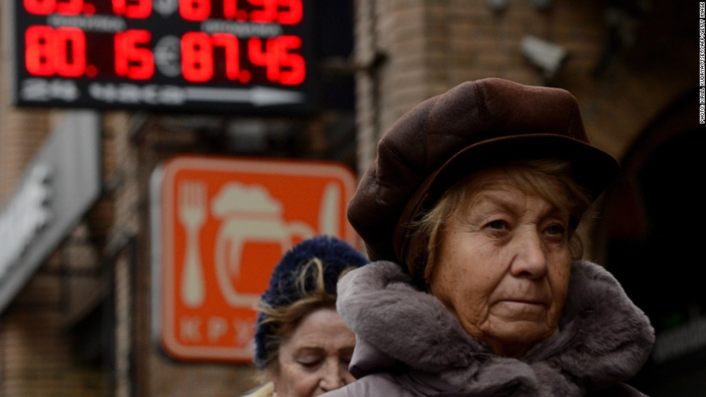 russia ruble wednesday