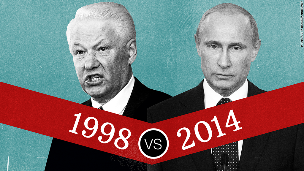 yeltsin vs putin