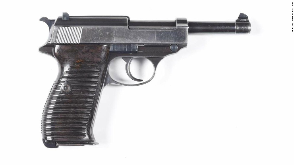Walther - 20 antique guns that fetched big bucks - CNNMoney