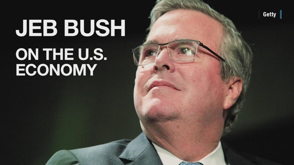 Jeb Bush's views on the U.S. economy