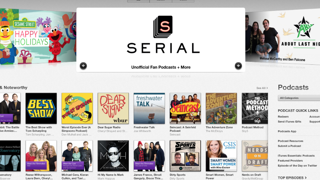 'Freakonomics' Host: Thanks 'Serial!'