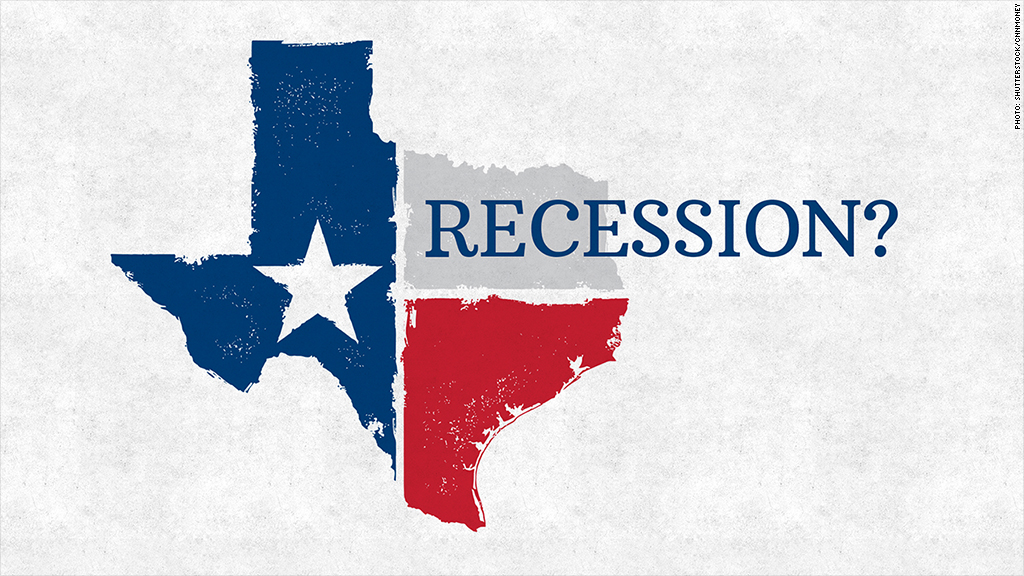 texas recession