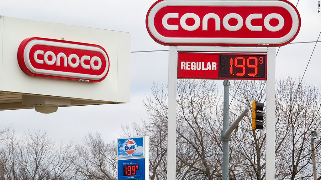 gas prices down