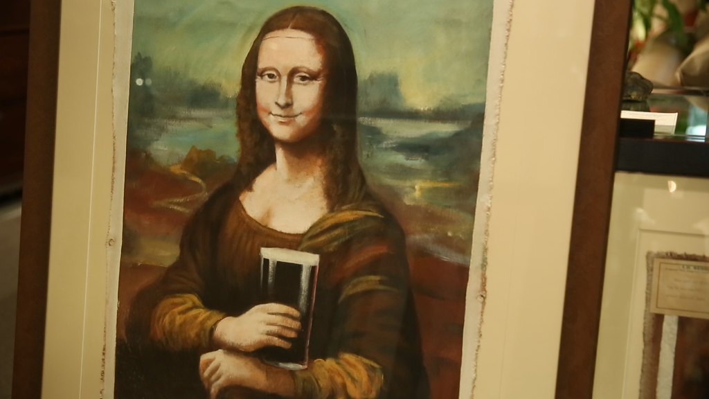 He found $2 million of lost Guinness art