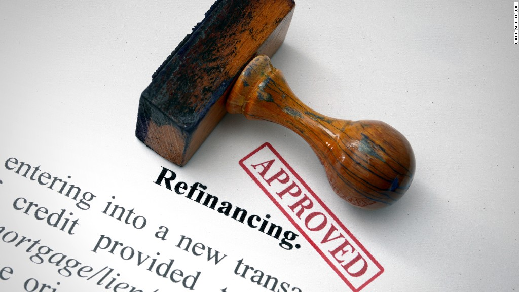 mortgage refinancing approved