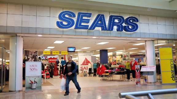 Sears Canada closing all of its stores
