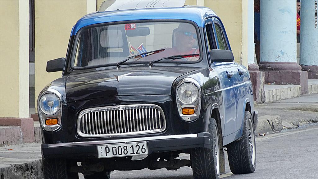 cuban cars cienfuegos