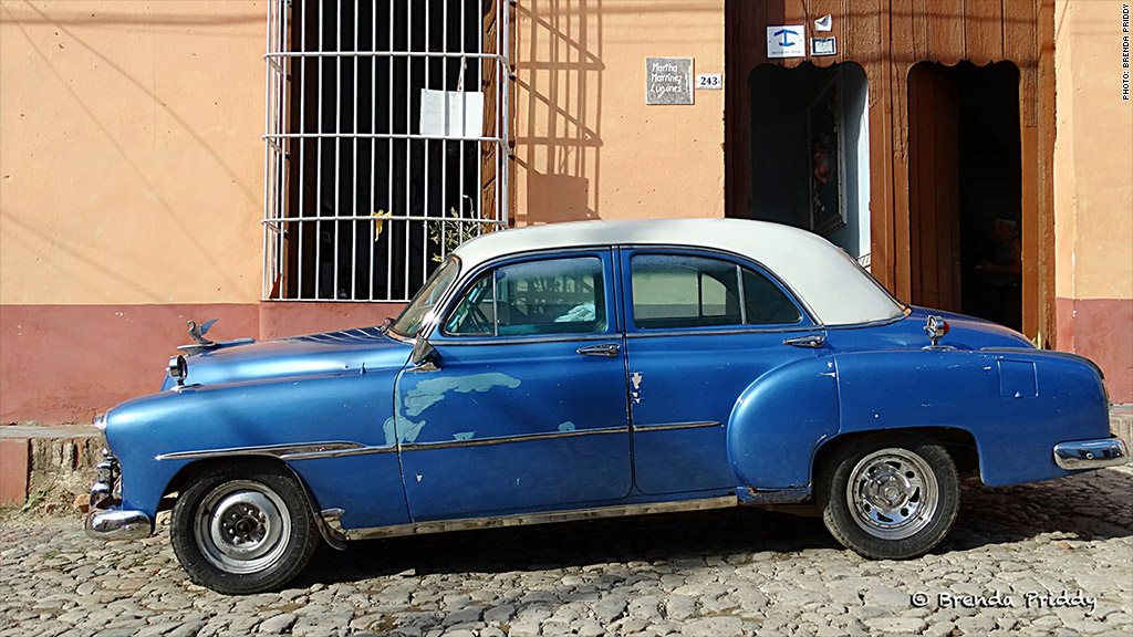 cuban cars trinidad