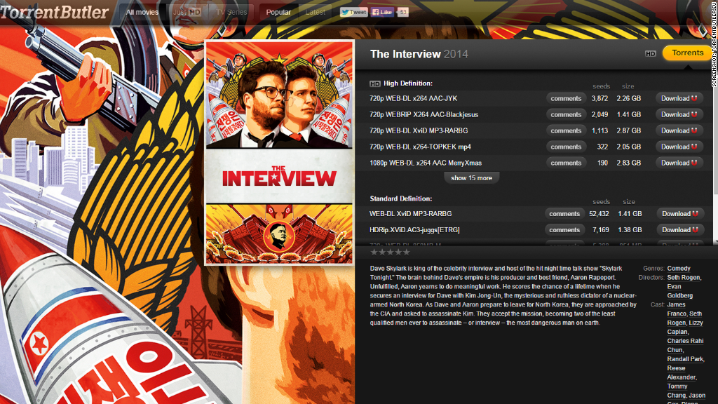 the interview illegal download
