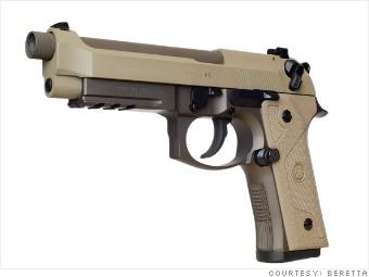 Beretta wants to be U S  Army's new gun  Again