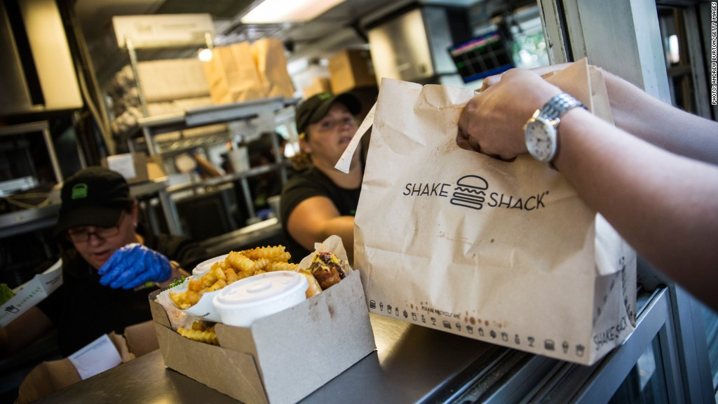 Shake Shack Files For 100 Million Ipo