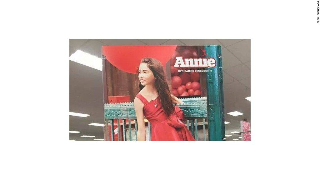 target annie in-store
