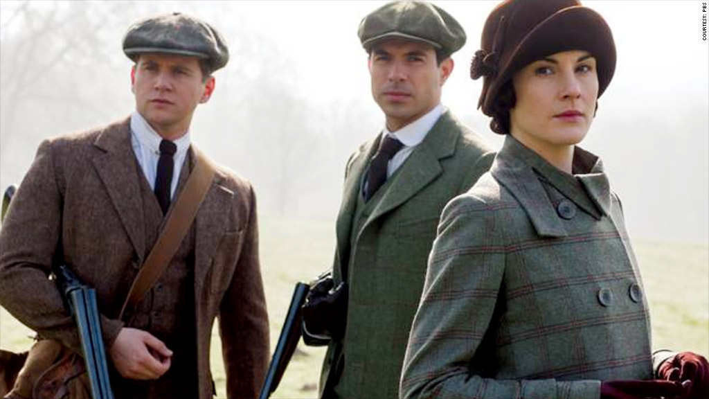downton abbey season 5 outdoors