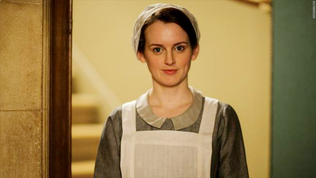 downton abbey season 5 maid