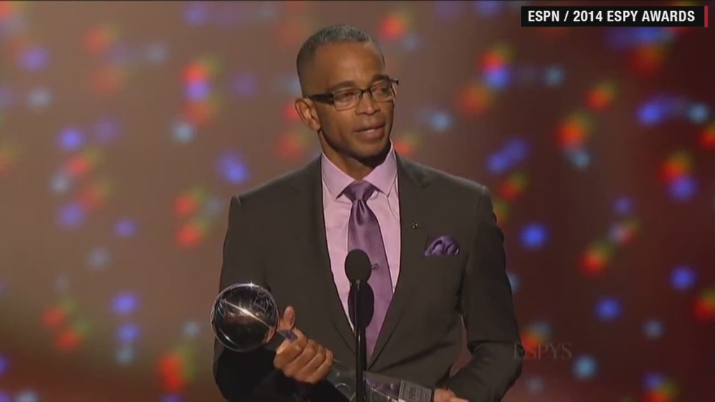 Stuart Scott's moving speech about his cancer