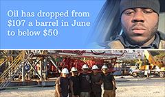 Cheap oil is killing my job