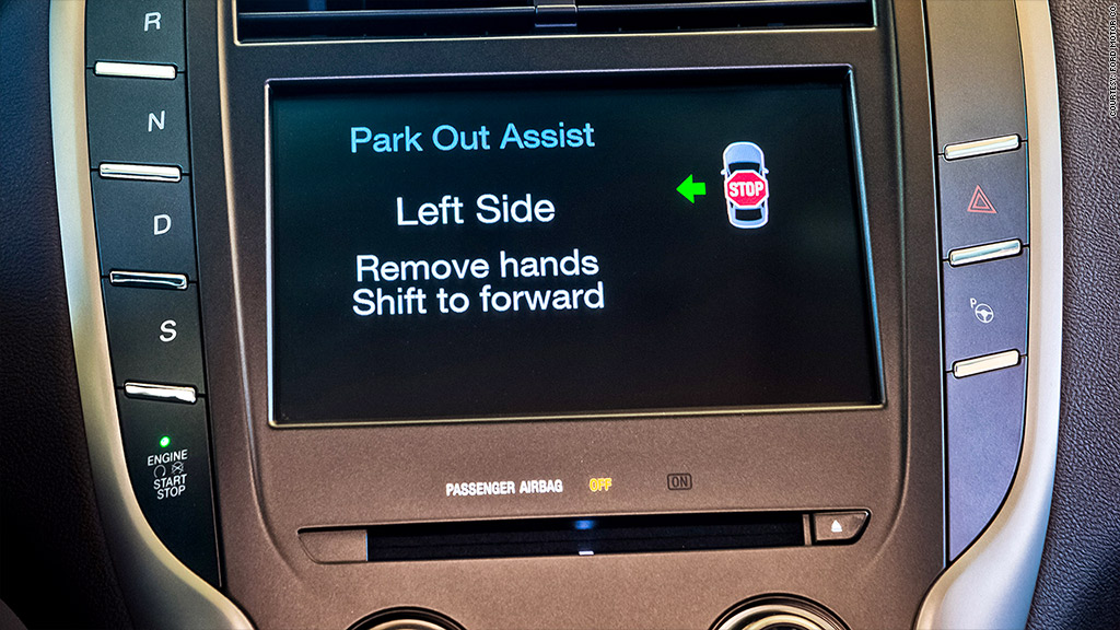 lincoln mkc push button recall