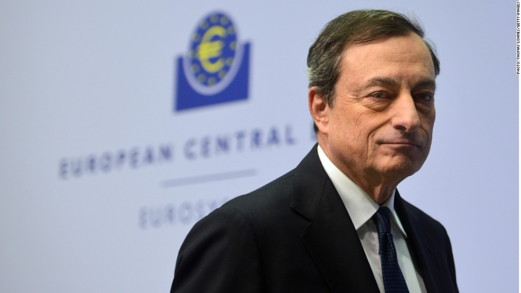 europe deflation draghi