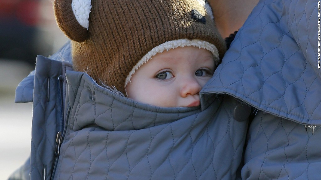 cold baby north carolina