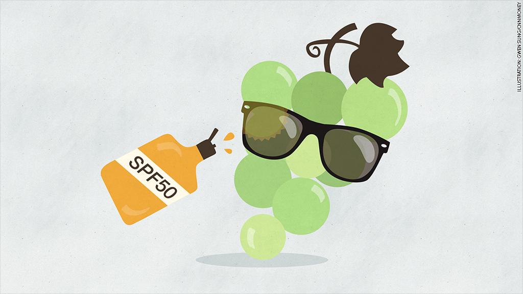 sun safe grapes