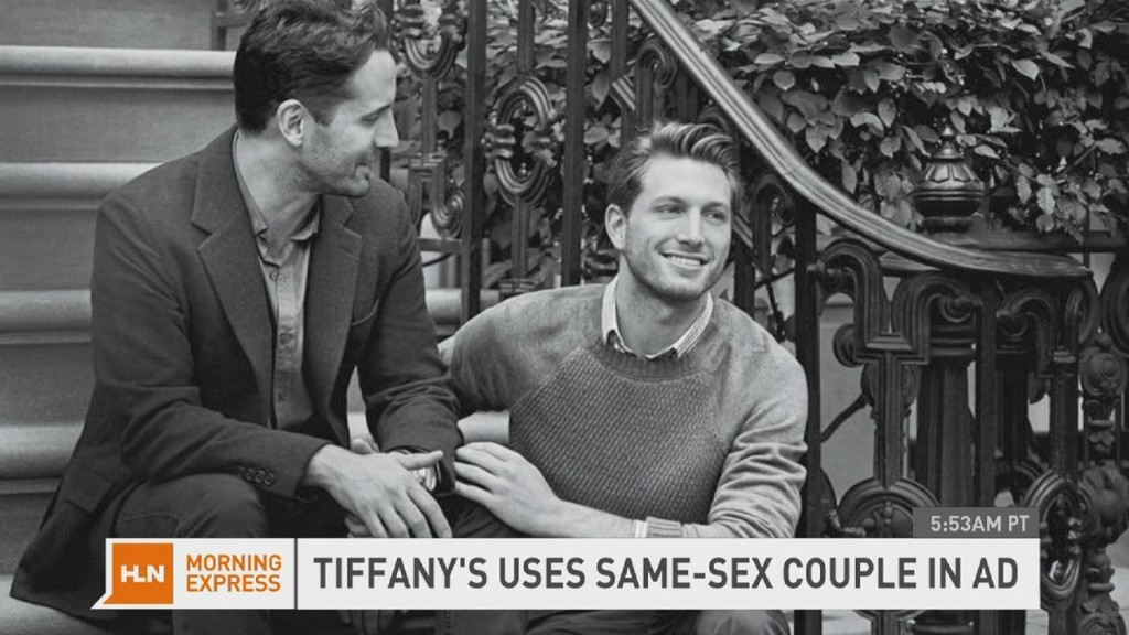 Tiffany uses gay couple in jewelry ad