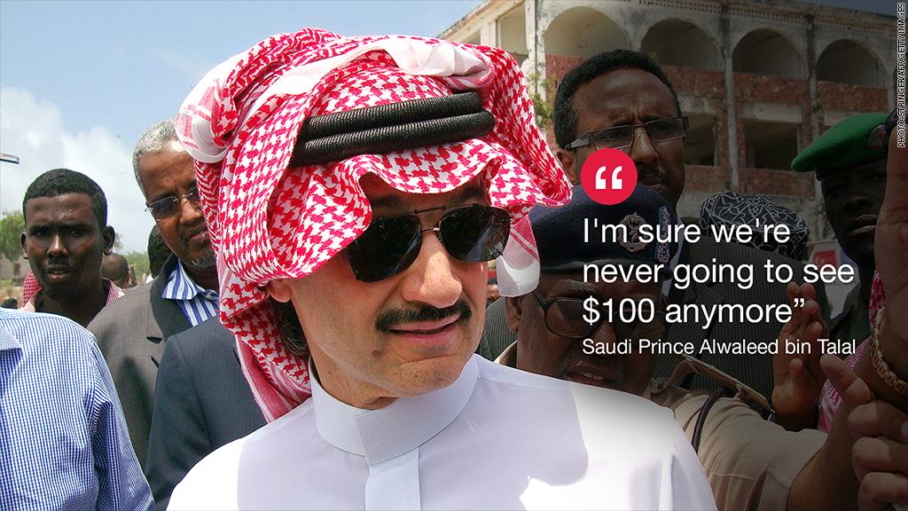 saudi prince oil quote