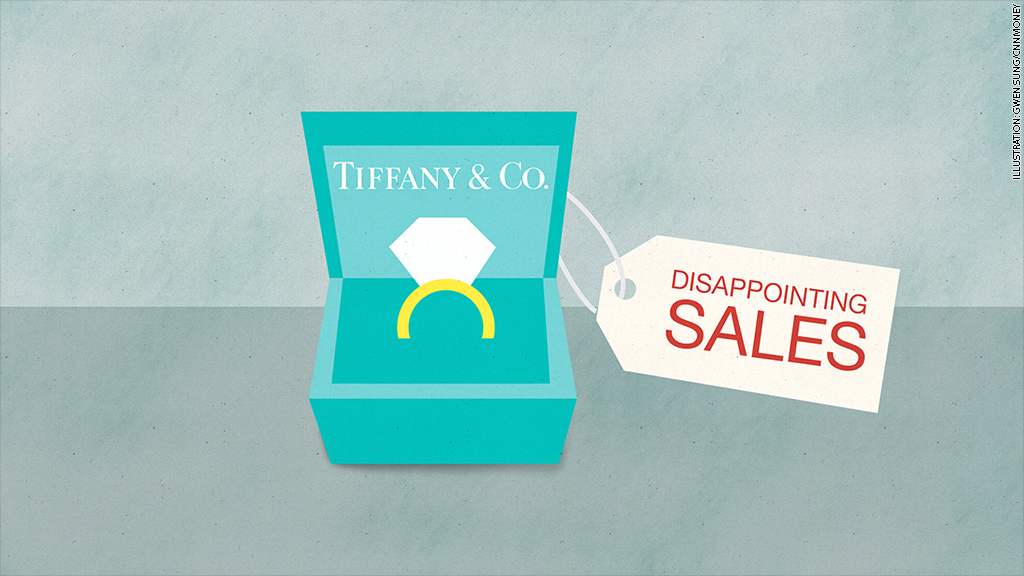 tiffanys disappointing sales