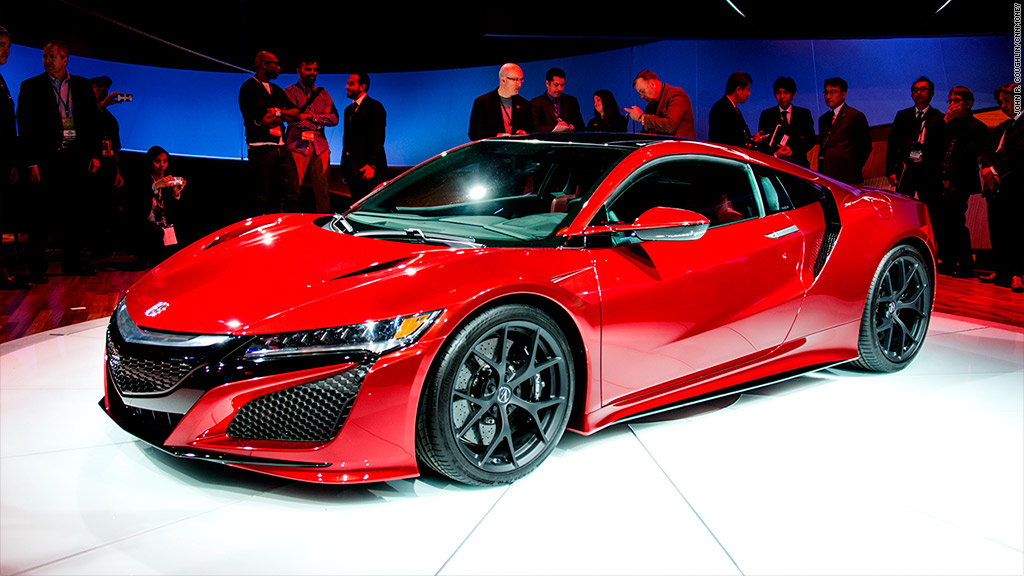 Acura Exotic Car >> Acura reveals NSX hybrid supercar