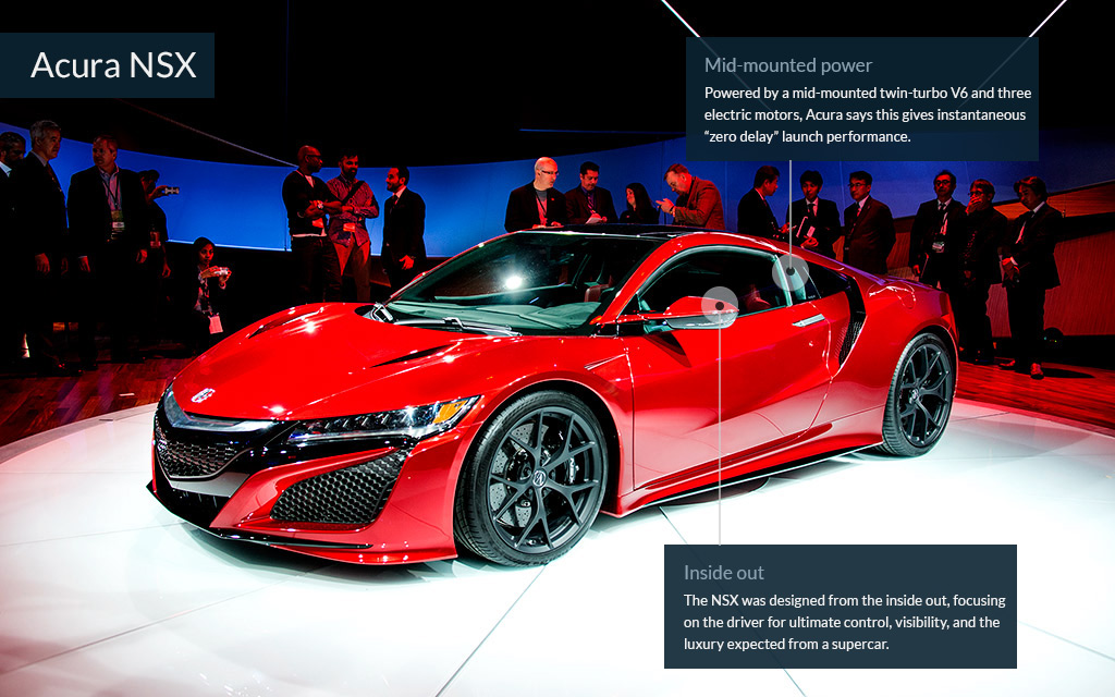 North American International Auto Show Cool Cars From