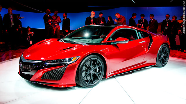 At The North American International Auto Show Acura Finally Showed Off Final Production Version Of Its Nsx Sports Car