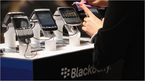 BlackBerry Priv sells out, stock pops